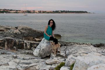 Abendstunde am Meer/Kroatien