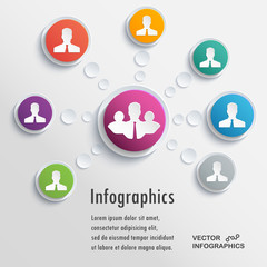 Presentation Infographics elements