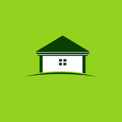 Green house image logo