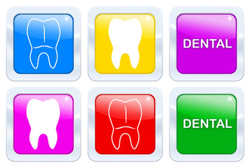 Bunte Dentaltechnik