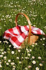 Aluminium Prints Picnic picnic basket