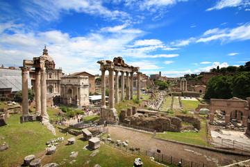 Poster de jardin Rome Rome - Forum romain - Foro Romano