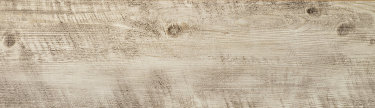 Wood texture background, knotted wooden plank or laminate with nature pattern and color