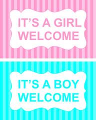 it is a girl or boy