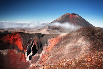 Printed kitchen splashbacks New Zealand Mt.Ngauruhoe (aka. Mt.Doom), North Island, New Zeland