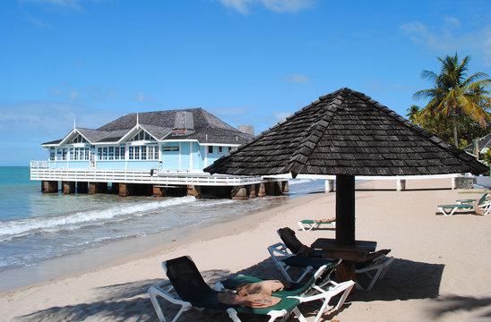 Sandals Pier Restaurant Halcyon Beach St Lucia