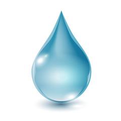 Obraz kropla wody wektor - fototapety do salonu