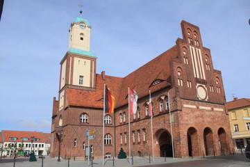Rathaus von Wittstock/Dosse