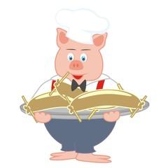 pig - cook
