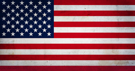 United States of America vintage flag
