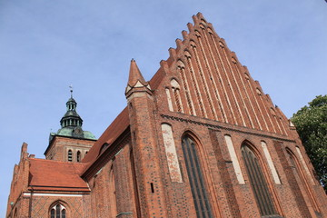 Mächtige St. Marienkirche in Wittstock