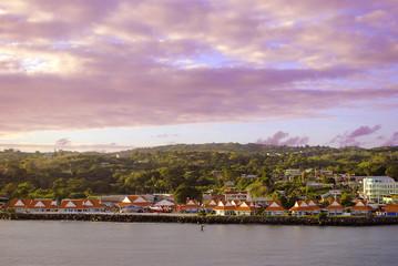 Scarborough Harbour Tobago