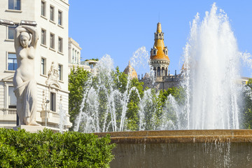 catalonia square