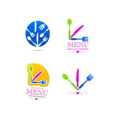 Kitchen set business web icon menu