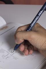 do the sketch