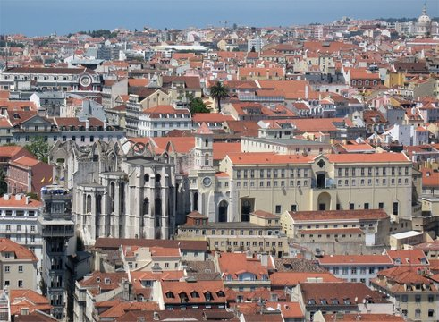 Tetti di Lisbona