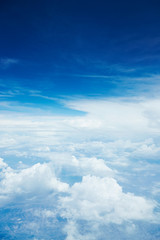 Wall Mural - 雲の上の空