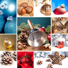 crhistmas collage