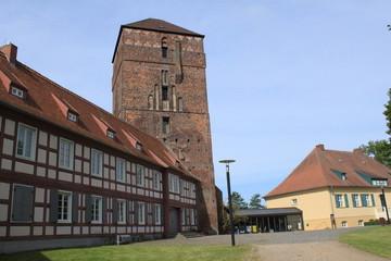 Alte Bischofsburg und Museum in Wittstock/Dosse