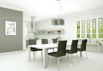 modern Dining Room Interior Design