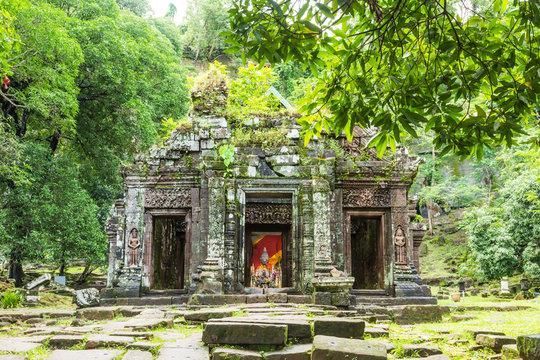 Wat Phu sanctuary ,Lao