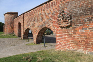 Wittstocker Stadtmauer am Brink