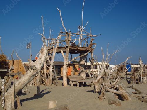 construction bois flotte