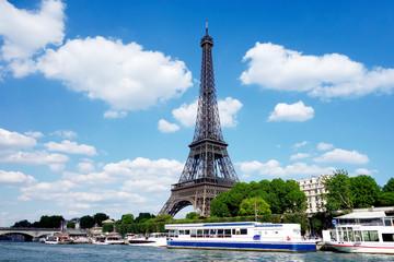 La Tour Eiffel à Paris en France