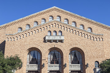 Gregory Gymnasium Building at University of Texas