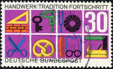 German Crafts and Trades, shows Trade Symbols