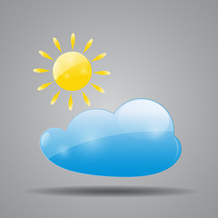 Weather Icon Vector Illustration for Your Design