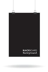 black board background