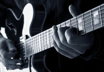 Wall Mural - playing guitar