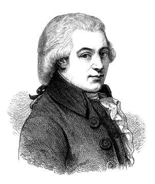 Composer : Wolfgang Amadeus Mozart - 18th century