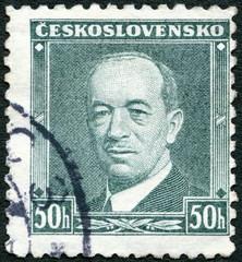 CZECHOSLOVAKIA - 1936: shows President Eduard Benes (1884-1948)