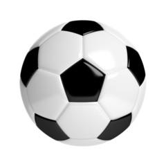 Fußball - Isoliert auf Weiß