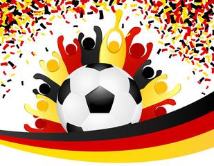 deutsche WM Feier