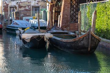 Venice, Italy - Boats