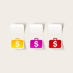 realistic design element: portfolio