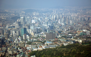 View of the city, Seoul, Korean Republic