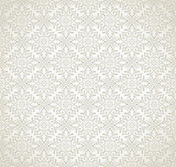 Damask seamless traditional pattern