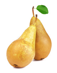 Ripe juicy pear