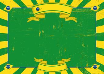 Brazil used horizontal background