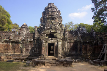Entrance to the Temple of Preah Khan