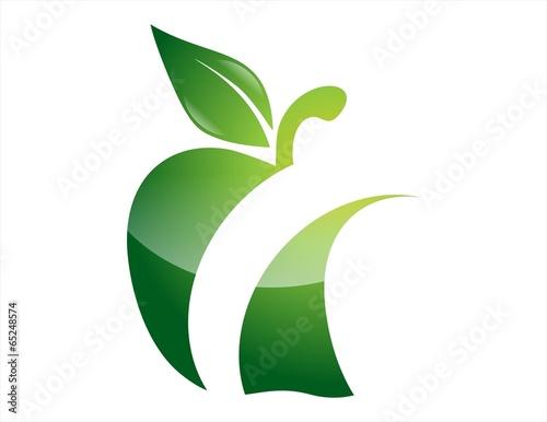 Apple Logo Fruit Nature Icon Symbol Design Stock Photo And Royalty