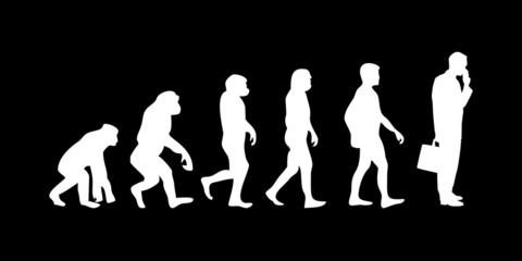Vom Affen zum (Menschen) Business Mann