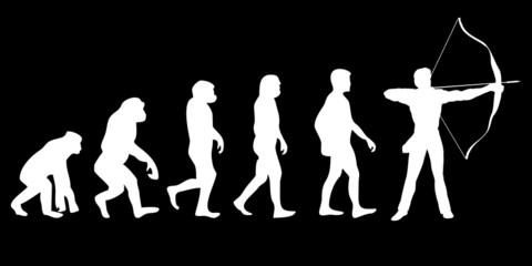 Vom Affen zum (Menschen) Bogenschiesser