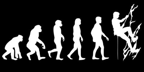 Vom Affen zum (Menschen) Bergsteiger