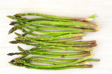 Young asparagus