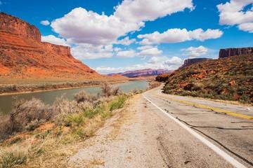 Wall Mural - Utah Highway 128